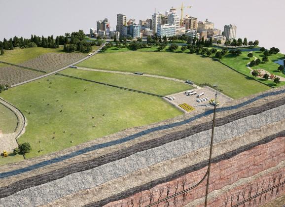 «Укргазвидобування» хоче добувати сланцевий газ в північно-західній частині Прикарпаття