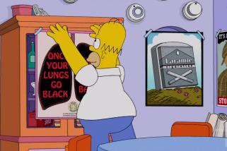 Симпсоны про фрекинг (Видео)